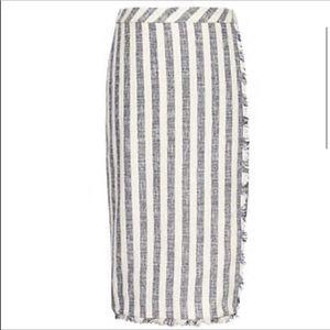 Banana Republic tweed pencil skirt